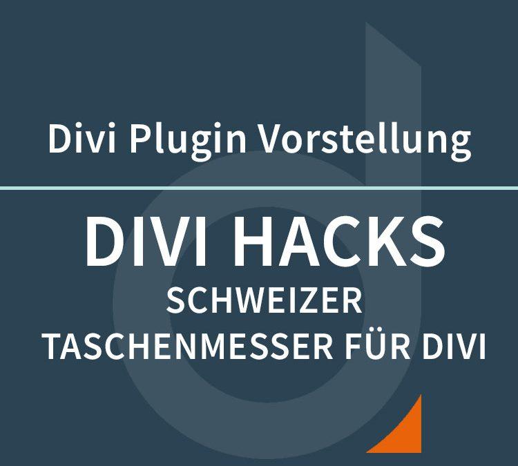 DIVI Hacks – Schweizer Taschenmesser für DIVI