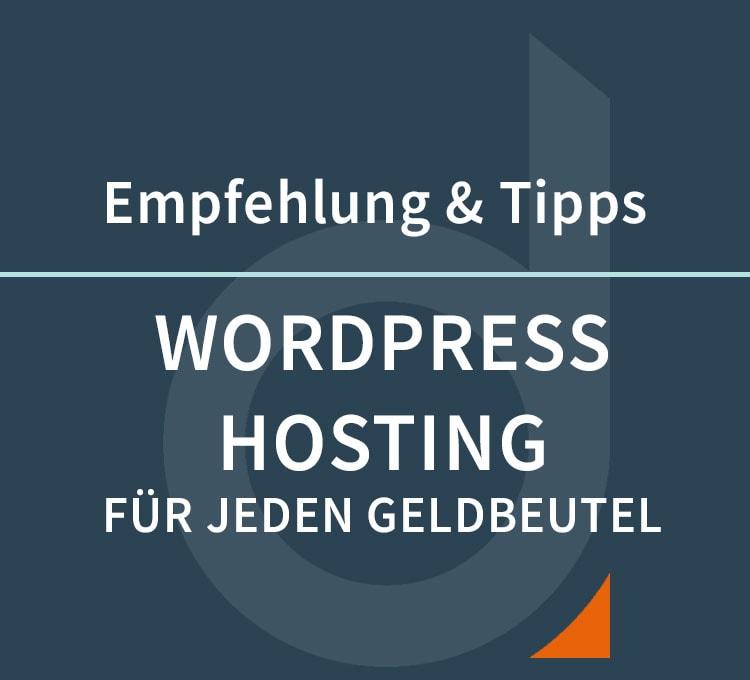 Unsere WordPress & DIVI Hosting Empfehlungen – Domains, E-Mail und Webhosting