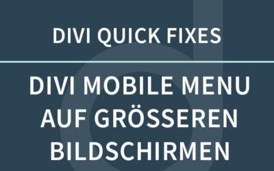 DIVI scrollt horizontal – Die einfache Lösung
